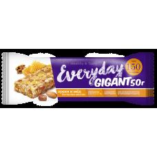 Bar EVERYDAY GIGANT nuts / honey, 50 g