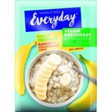 Каша овсяная EVERYDAY VEGAN Breakfast Банан-конопляное семя, 35 г
