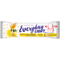 Батончик-мюсли EVERYDAY light с имбирем и медом, 30 г