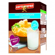 Mashed potatoes with milk (package), 320 g