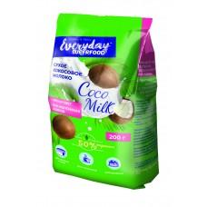 Молоко сухое кокосовое 50% жирности ТМ EVERYDAY(в пакете), 200г