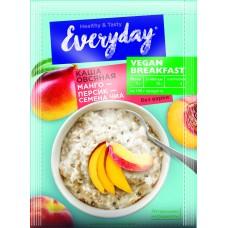 Каша овсяная EVERYDAY VEGAN Breakfast Манго-персик-семена чиа, 36 г
