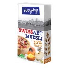 """Мюсли """"Swiss art muesli"""" с фруктами, 300 г"""