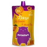 Potapych, apricot and pumpkin jam, 300 g