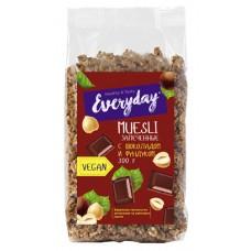 Baked muesli EVERYDAY with chocolate and hazelnuts  , 300 g