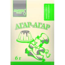 Добавка пищевая Агар–агар (Е 406), 6 г