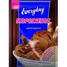 Dry dessert EVERYDAY for ice cream with chocolate flavor, 55 g