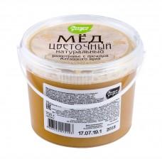 Мёд натуральный разнотравье с гречихой, ЛЕСНЫЕ УГОДЬЯ, 700 г