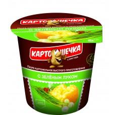 Картошечка Пюре картофельное с зеленым луком, 41 г