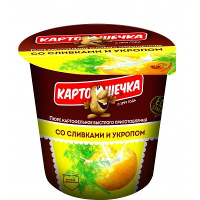 Картошечка Пюре картофельное со сливками и укропом, 38 г