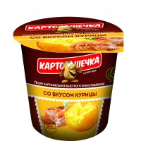 Potatoes Mashed potatoes with chicken flavor, 41 g
