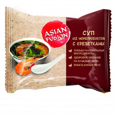 Суп из морепродуктов с креветками Asian Fusion, 12 г