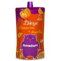 Potapych, orange and pumpkin jam, 300 g