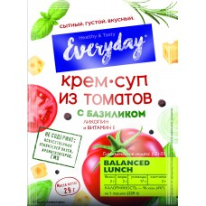 Cream soup EVERYDAY from tomatoes with basil (package), 29 g