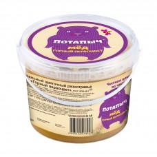 Мёд натуральный горный первосвет, Потапыч, в пластиковом контейнере, 700 г