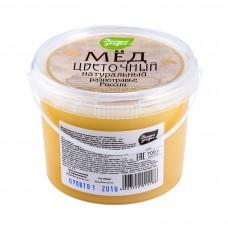 Мёд натуральный разнотравье, ЛЕСНЫЕ УГОДЬЯ, 700 г