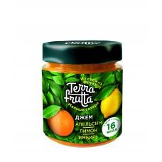 Jam Terra Frutta Orange, lemon, ginger, 200 g