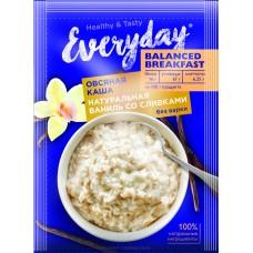 Каша овсяная EVERYDAY Balanced Breakfast Натуральная ваниль со сливками, 40 г