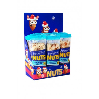 Батончик ореховый EVERYDAY NUTS Миндаль-Кокос, 40 г