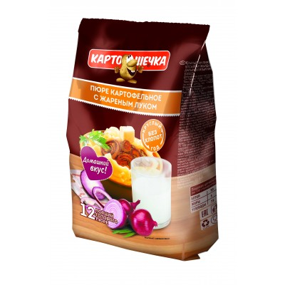 Mashed potatoes with fried onions (package), 320 g