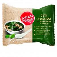 Суп грибной со шпинатом и яйцом Asian Fusion, 12 г